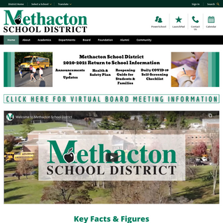 Methacton School District - District Home Page