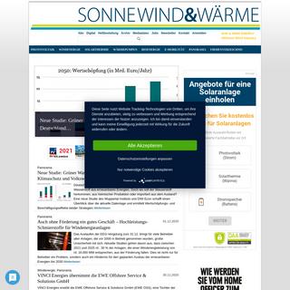 SonneWind&Wärme - Erneuerbare Energie - News