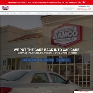 Transmission shop & Total Car Care - AAMCO
