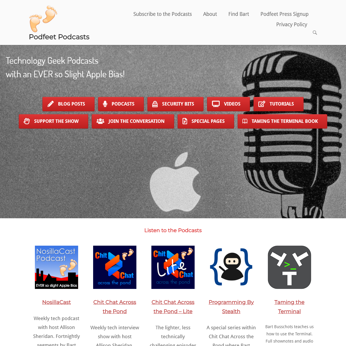 Home Page - Podfeet Podcasts