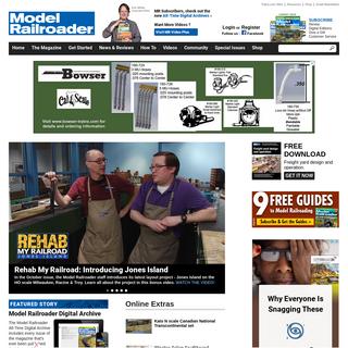 Model Railroader Magazine - Model Railroading, Model Trains, Reviews, Track Plans, and Forums