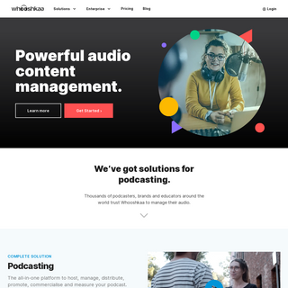 Podcast Hosting - Podcast Advertising – Whooshkaa