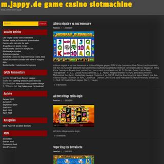 m.jappy.de game casino slotmachine - earthquakekrmassage.online