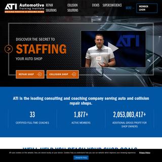 ATI Home- Auto & Collision Shop Coaching & Training