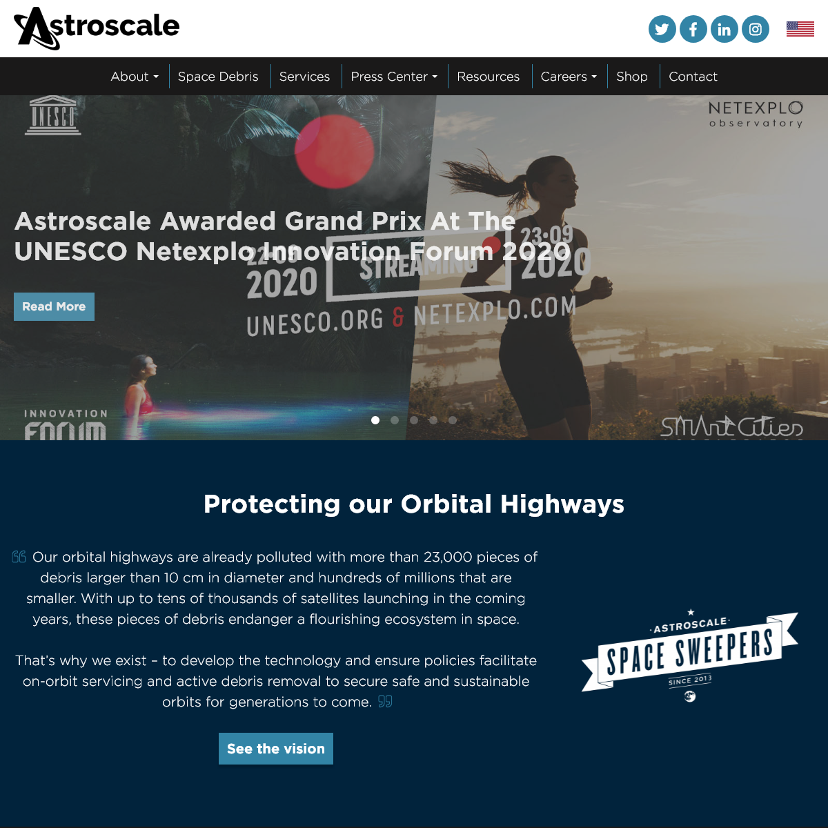 Astroscale, Securing Space Sustainability