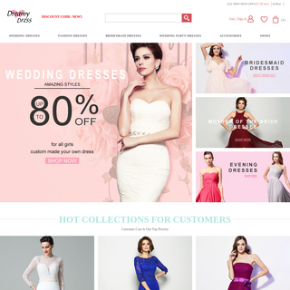 Cheap Wedding Dresses, Matric & Evening Dresses South Africa Online - DreamyDress