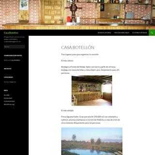 Casa Botellon - El lugar donde reunirte con tus amigos. 639438803. casabotellon@gmail.com
