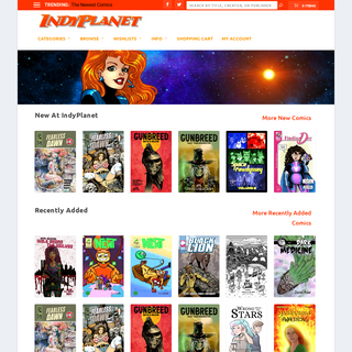 IndyPlanet – A New World of Comics