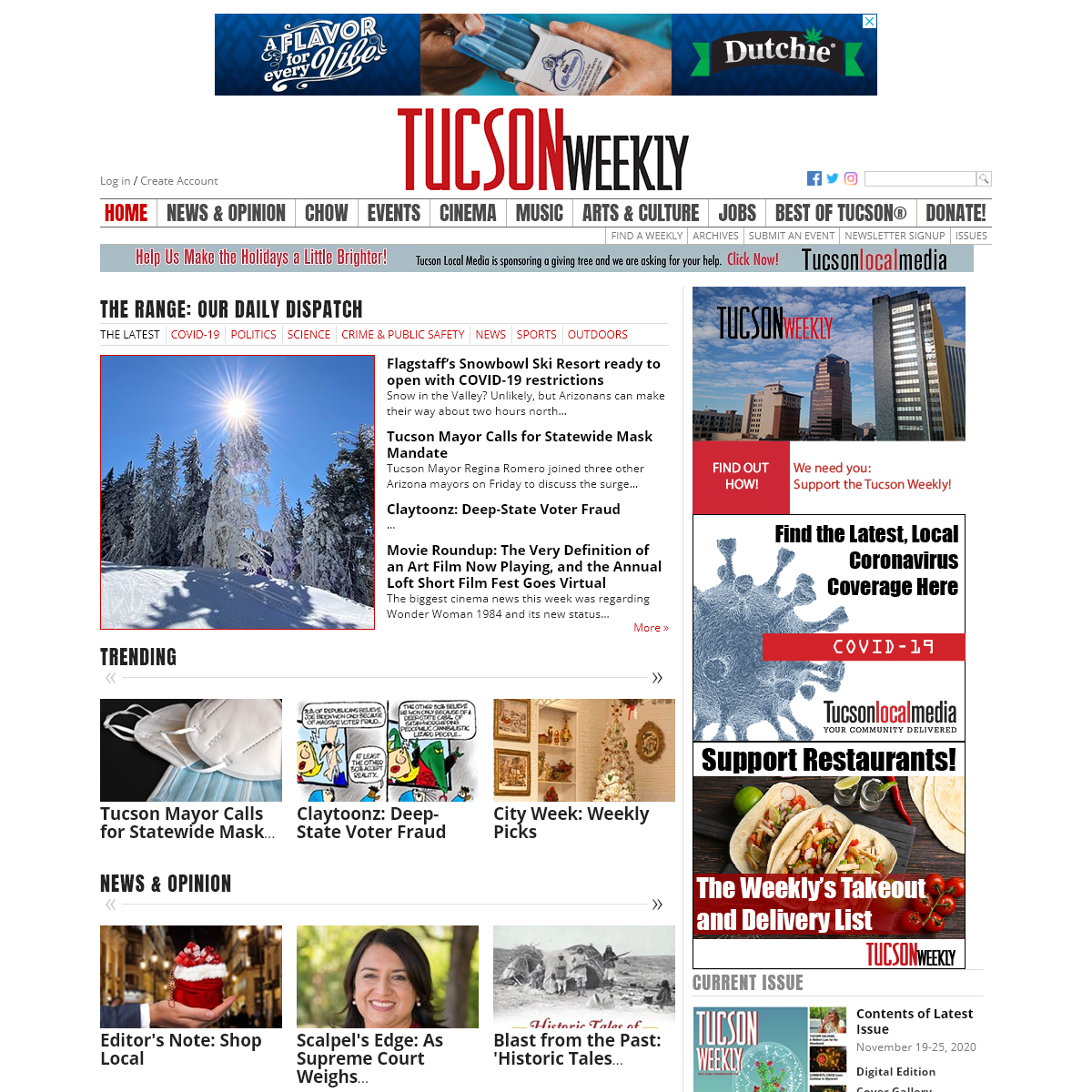 Tucson Weekly- The Best of Tucson, News, and Everything That Matters