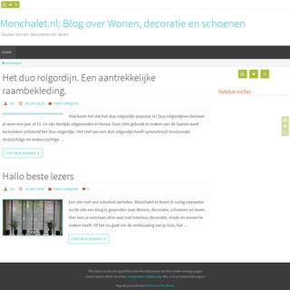 Monchalet.nl- Blog over Wonen, decoratie en schoenen - Leuker wonen decoreren en leven