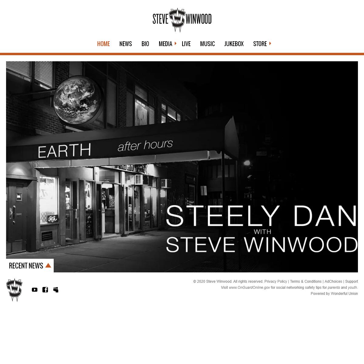 Steve Winwood - Official Site