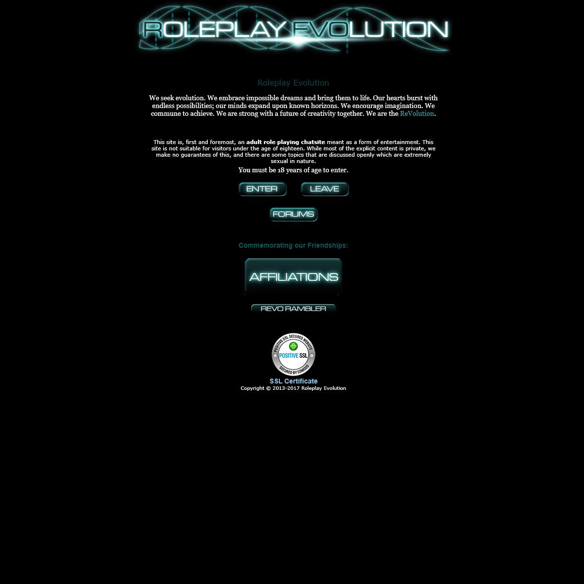 Roleplay Evolution