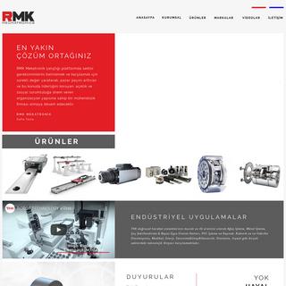RMK MEKATRONİK - THK Türkiye Distribütörü