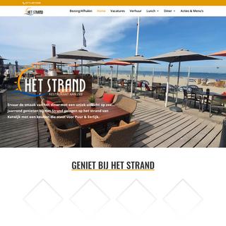Het Strand - Restaurant aan Zee