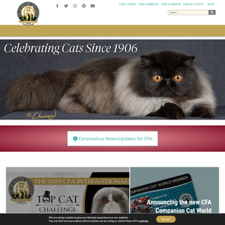 The Cat Fanciers` Association, Inc – World`s Largest Registry of Pedigreed Cats