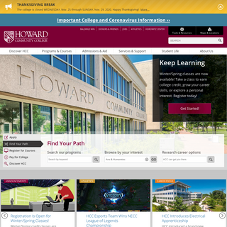 Home - Howard Community College