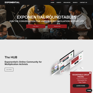 Church Planting and Multiplication Resources - Exponential