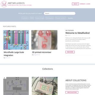 Metafluidics – Open Repository for Fluidic Systems