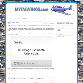 MetalWings - Diecast Aircraft Addiction