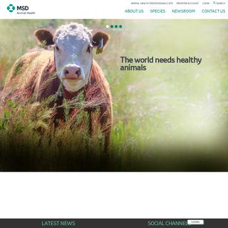 Company home page - MSD Animal Health United Kingdom