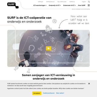 SURF.nl - Samen aanjagen van vernieuwing
