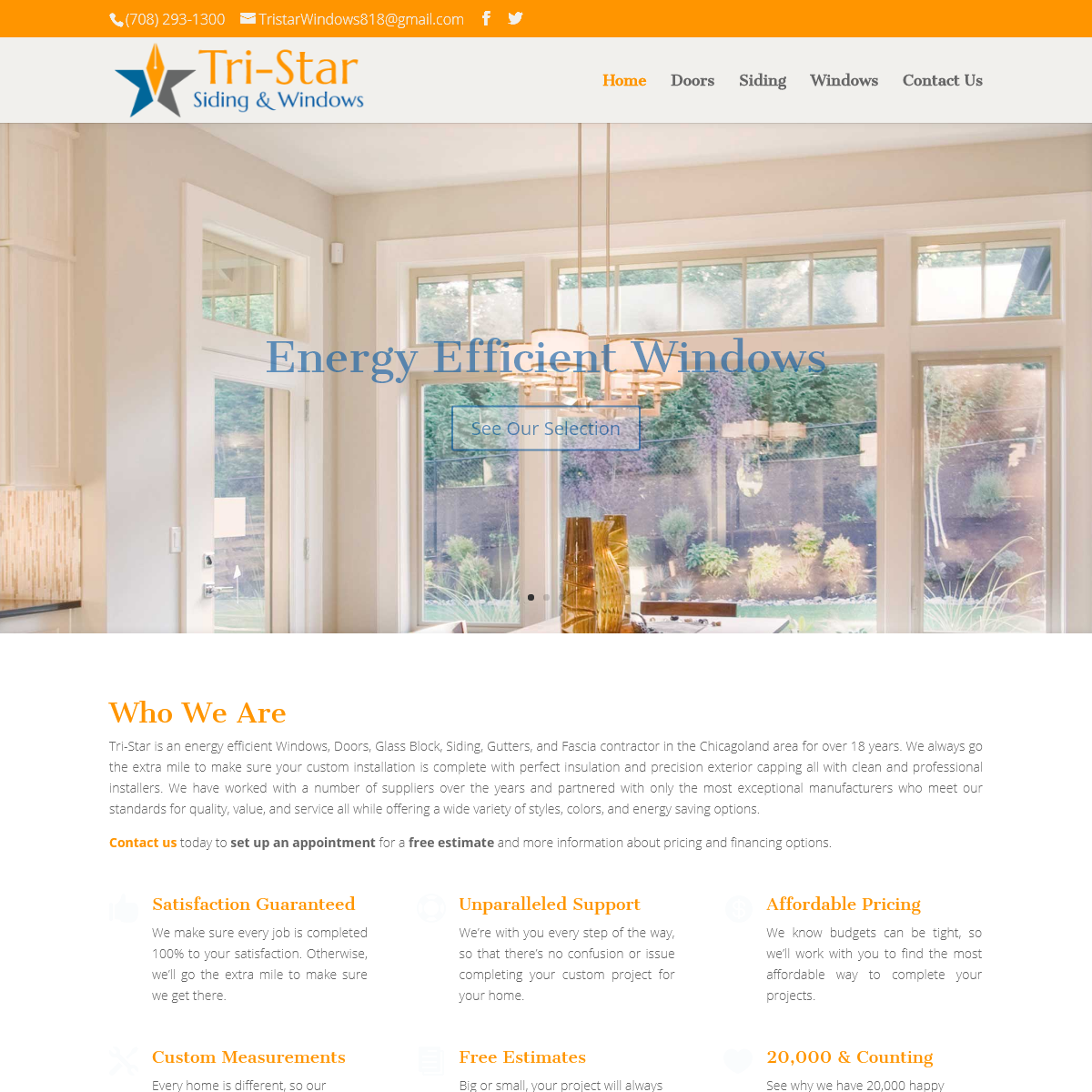 Tri-Star Siding & Windows - Chicagoland Windows & More Since 2001