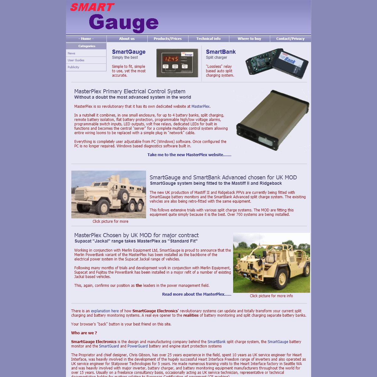 SmartGauge Electronics - Homepage