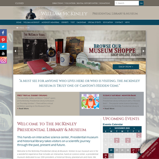 William McKinley Presidential Library and Museum