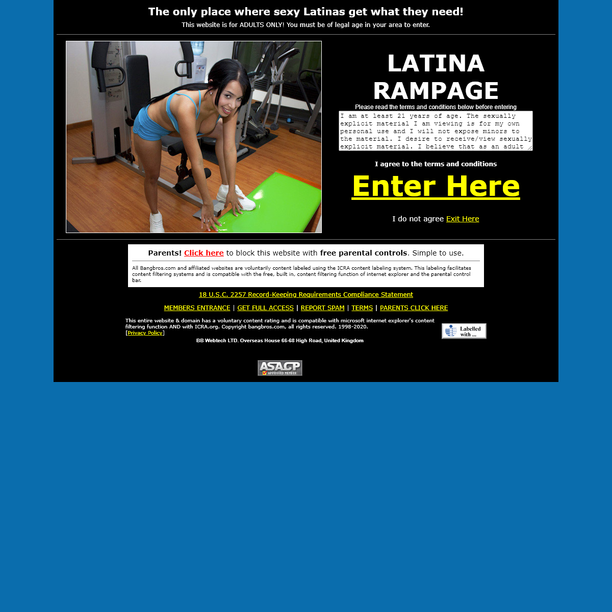 Latina Porn Videos Hispanic Sex Pics - Latina Rampage