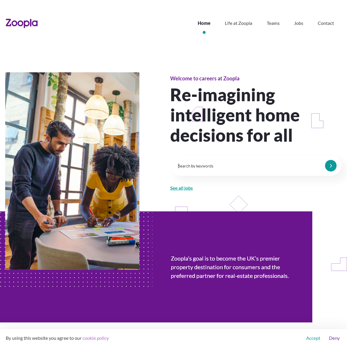 Zoopla - Re-imagining intelligent home decisions for all