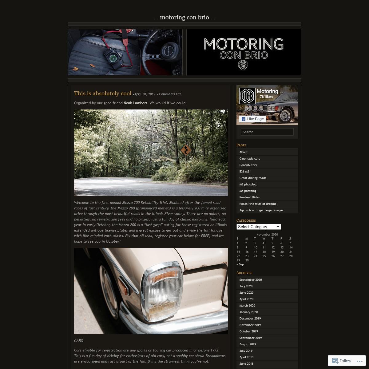 Motoring Con Brio