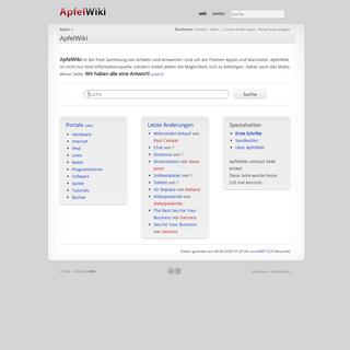 ApfelWiki – apfelwiki.de