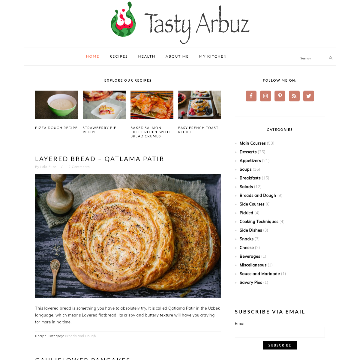 Tasty & Healthy Arbuz