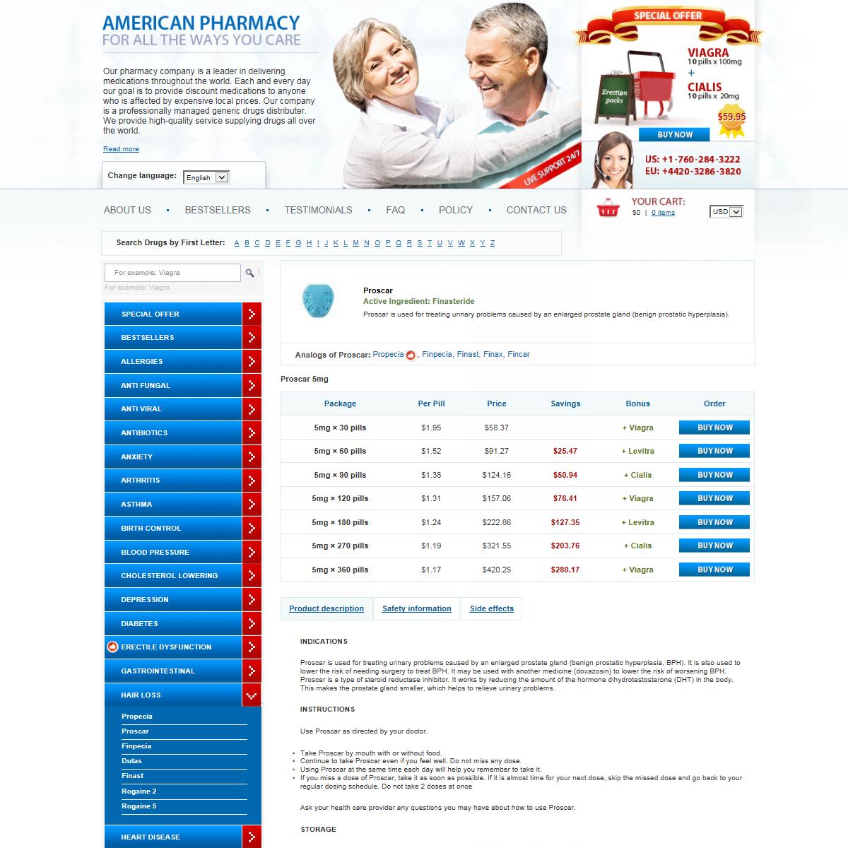 Buy Generic Proscar Online