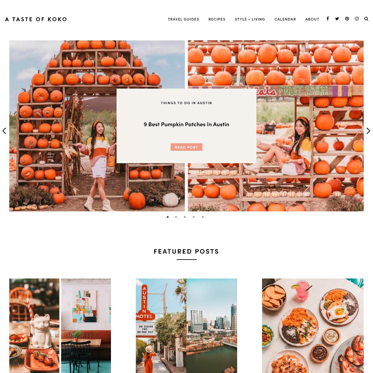 A Taste of Koko - Austin`s Top Food & Travel Blog