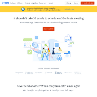 Free online meeting scheduling tool - Doodle