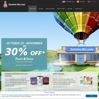 Sherwin-Williams Interior & Exterior Paint and Coatings