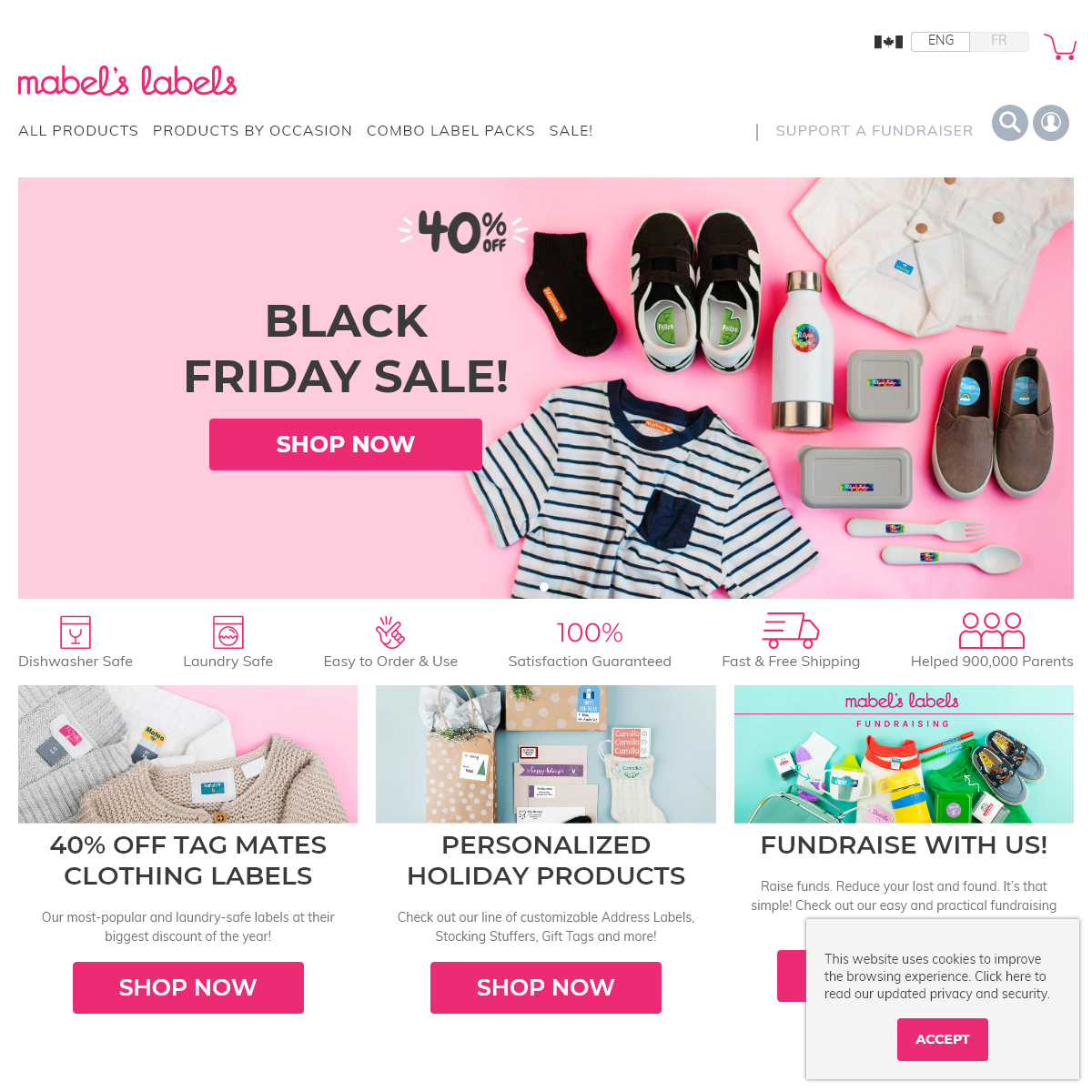 Mabel`s Labels- Kids Labels, Name Stickers & Clothing Labels