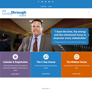 The Breakthrough Coach - Management Consultants