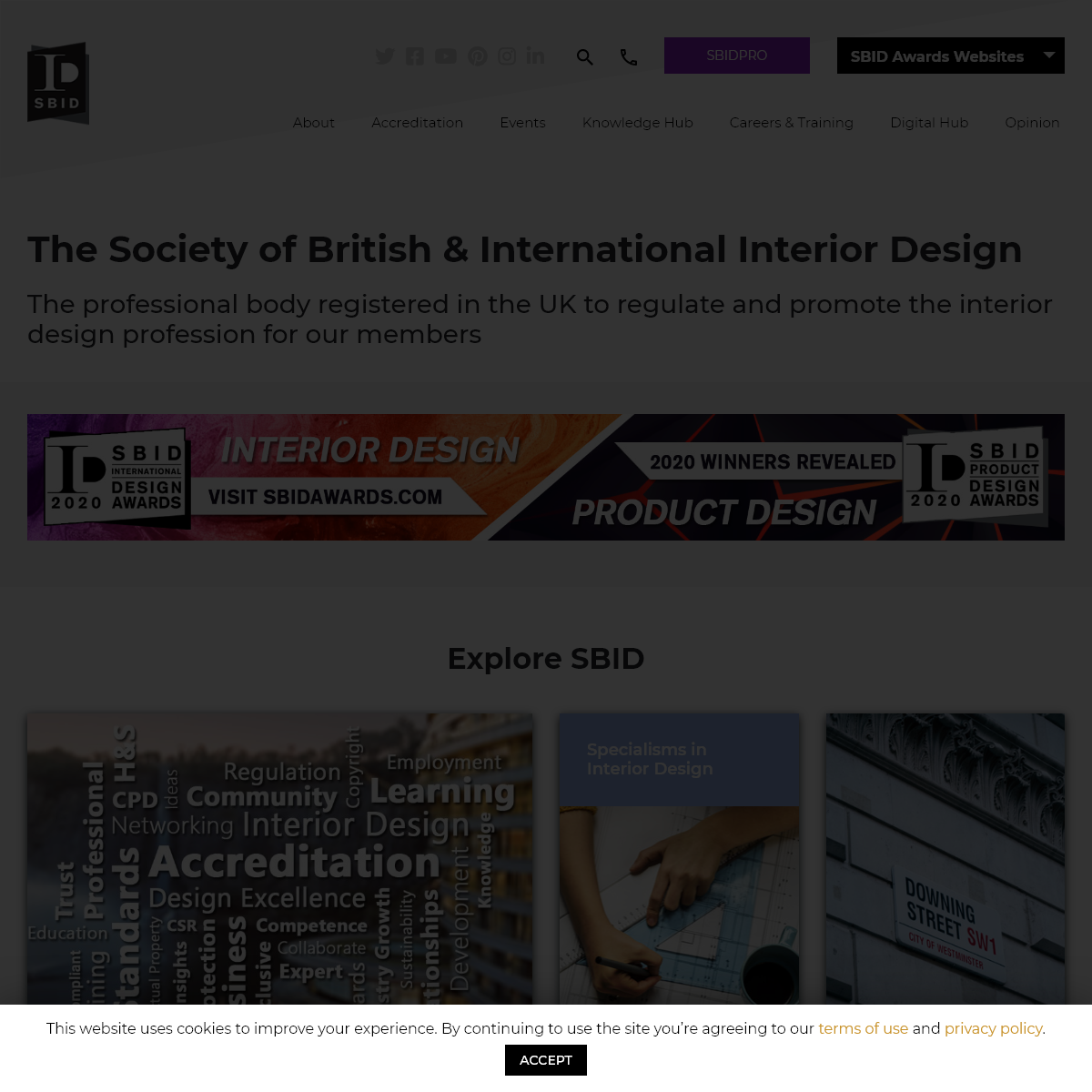 The Society of British & International Interior Designers - SBID