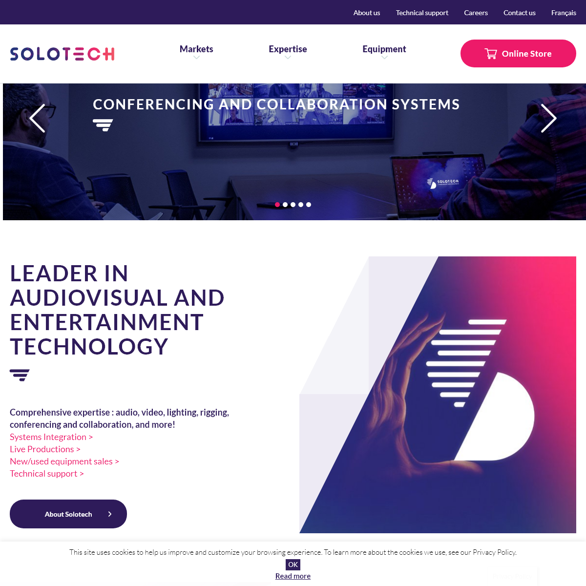Solotech - simply spectacular