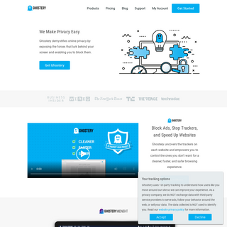 Ghostery- Online Privacy Made Easy