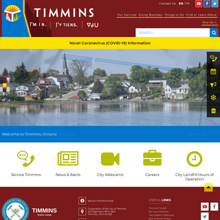 Home - City of Timmins