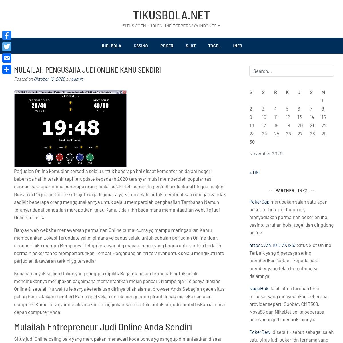tikusbola.net - Situs Agen Judi Online Terpercaya Indonesia