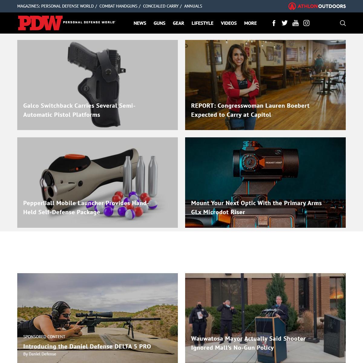 Personal Defense World – Gun News, Gun Reviews, and Self Defense Tips