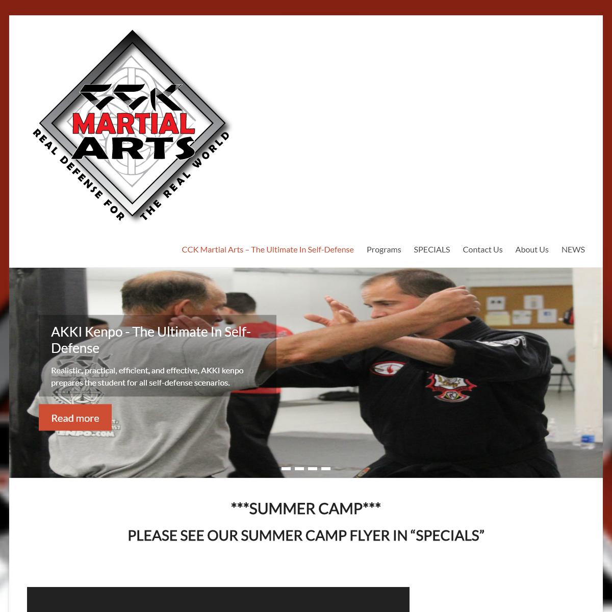 CCK Martial Arts - The Ultimate In Self-Defense -