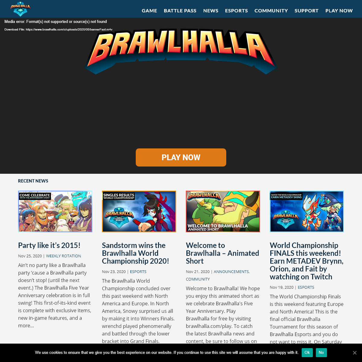 Welcome To Brawlhalla - The Free to Play Fighting Game
