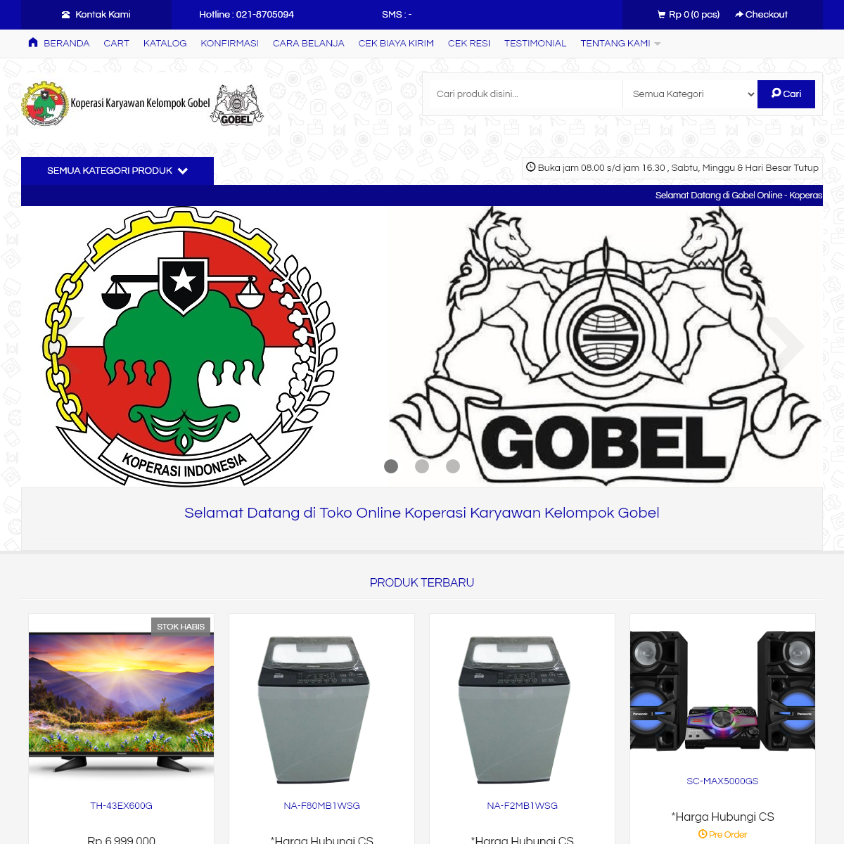 Gobel Online Store - Koperasi Karyawan Gobel Group