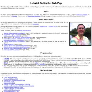 Roderick W. Smith