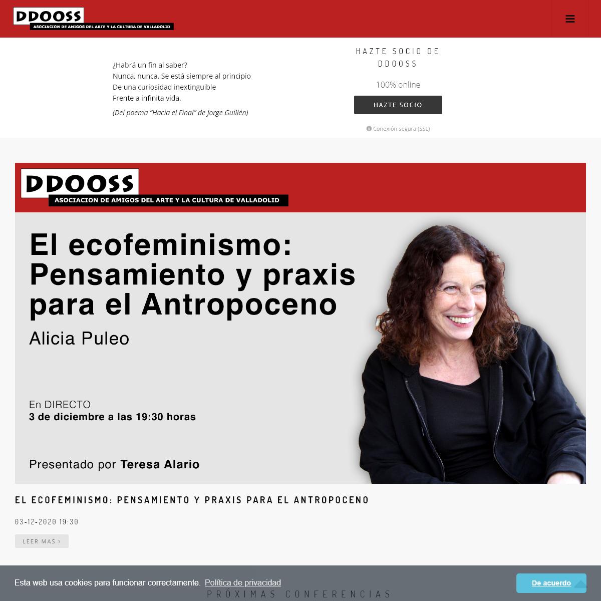 DDOOSS - Asociación de amigos del Arte y la Cultura de Valladolid